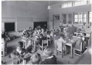 klaslokaal Keluterschool de Korenbloem